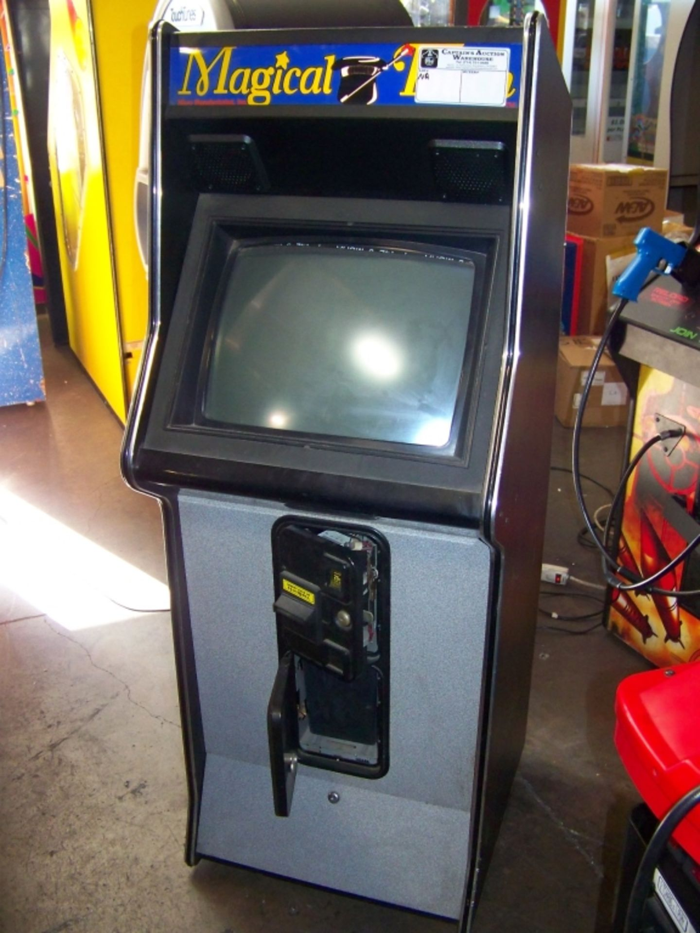 MAGIC TOUCH UPRIGHT TOUCHSCREEN ARCADE GAME