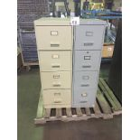 LOT OF 2 FILE CABINETS