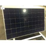 LOT OF (3) 250 WATT SOLAR PANELS (BIDDING IS PER PANEL MULTIPLIED BY 3)