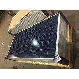 LOT OF (9) 305 WATT SOLAR PANELS (BIDDING IS PER PANEL MULTIPLIED BY 9)