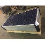 LOT OF (9) 255 WATT SOLAR PANELS (BIDDING IS PER PANEL MULTIPLIED BY 9)