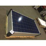 LOT OF (9) 250 WATT SOLAR PANELS (BIDDING IS PER PANEL MULTIPLIED BY 9)