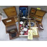 """DIAL GAGES, MAG STANDS, DRILL POINT GAGES, ZEISS GAGE, OPTICAL LOCATOR, SWEDISH 2 - 3"""" GAGE,"""
