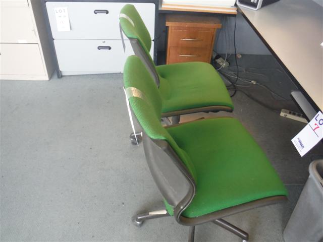 Lot 8 - OFFICE CHAIRS