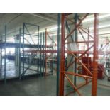 INDUSTRIAL PALLET RACKING ASSORTED SIZES