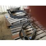 NEW SPARE PARTS FOR MANITOWOC 4000-W CRAWLER CRANE--(2) SPOOLS OF CABLE, (3) SKIDS OF NEW WIRE