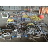APPROXIMATELY (50) SKIDS/PALLETS/BOXES/CRATES/JOB BOXES OF ASSORTED RIGGING INCLUDING: 100'S OF