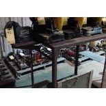 LOT OF ROLLING CARTS (4)