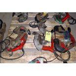 LOT OF ELECTRIC DEEP CUT BANDSAWS (3)
