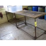 LOT OF WORKTABLES (10), assorted