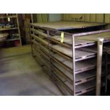 FABRICATED RACK (for storage)