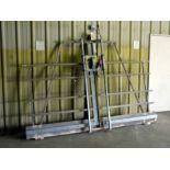"PANEL SAW, MILWAUKEE, 2-1/2 HP motor, 66"" x 144"" frame"