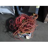LOT OF EXTENSION CORDS (in one tub)