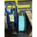BANDING CART, w/crimpers, ratchet, polyester strapping