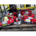 LOT OF FIRE EXTINGUISHERS (on one pallet)