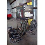 WELDER, MILLER MDL. CP-250TS, 250 amps, 100% duty cycle, Miller R-115 wire feeder, S/N U494412