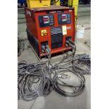"""STUD WELDER, NELSON """"NELWELD"""" MDL. 6000, 790 amps @ 44 v., 100% duty cycle, stud welding gun &"""