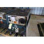 ARC WELDER, MILLER MDL. CP-250TS, 250 amp, S/N JB470699 (missing meter & side cover)