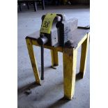 """BENCH VISE, MORGAN 6"""", w/stand"""