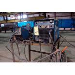 MIG WELDER, MILLER MDL. XMT456 INVERTER STYLE, 450 amps @ 38 v., 100% duty cycle, Miller 70 Series