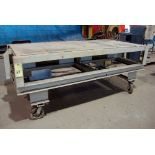 """PORTABLE STEEL TABLE, 48"""" x 96"""", H.D."""
