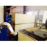 CNC LASER CUTTING SYSTEM, MITSUBISHI MDL. ML2512LXP MODEL 3020D, new 1999, Mitsubishi 2,000 watt