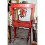 H-FRAME PRESS, RED ARROW, S/N U-27165