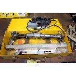 PORTABLE HAND HELD GAS CUTTING MACHINE, KOIKE SANSO KOGYO MDL. HANDY AUTO, 120 v., carrying case,