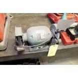 BENCH GRINDER, BR TOOLS MDL. BG6, 3/4 HP motor