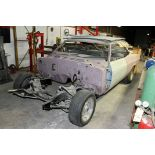 PROJECT CAR, 1965 IMPALA SUPER SPORT, frame has been blasted & repainted, frame has been checked for
