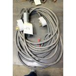 LOT OF H.D. HIGH VOLTAGE EXTENSION CORDS