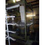 """FLAT YARN CIRCULAR WEAVING MACHINE, DONG SHIUAN MDL. DS-4/720SH, 35-75 CM (13.78"""" to 29.53""""), 135-"""