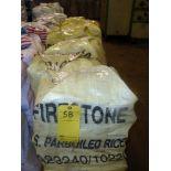 LOT OF FLAT YARN ROLLS (in approx. seven bags)