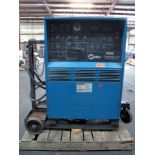 WELDING MACHINE, MILLER SYNCROWAVE 350, 350 amps @ 34 v. (40% duty cycle), 300 amps @ 32 v. (60%