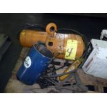 ELECTRIC CHAIN HOIST, BUDGIT T. CAP.