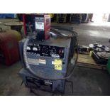 ARC WELDER, LINCOLN IDEALARC MDL. DC600, 600 amps, w/LN-7 wire feeder, S/N AC730450