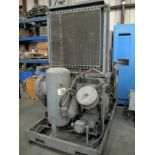 ROTARY SCREW TYPE AIR COMPRESSOR, INGERSOLL RAND MDL. SSR2000, 75 HP motor