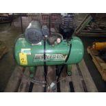 AIR COMPRESSOR, SPEEDAIRE, 3 HP motor, 230/460 v.