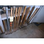 LOT OF SLEDGE HAMMERS (approx. 13)