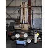 """HYDRAULIC SLOTTER, ROCKFORD 24"""", 42"""" built-in rotary table, S/N 89SA70 (no loading charge) (Location"""