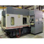 CNC HORIZONTAL MACHINING CENTER, CINCINNATI MILACRON MDL. HPC-630XT, new 1999, Acramatic A-950 CNC