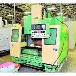 "CNC VERTICAL MACHINING CENTER, MORI SEIKI MDL. MV40, Fanuc 10M CNC control, 18"" x 43"" table, 31.5"""