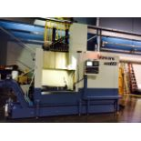 """UNUSED CNC VERTICAL TURRET LATHE, FORCE ONE MDL. EVL10, Fanuc Oi-TD Control, 40"""" table, 55"""" max."""