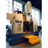 UNUSED CNC VERTICAL TURRET LATHE WITH MILLING, FORCE ONE MDL. EVL12M, Fanuc Oi-TD Control,