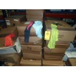 LOT OF CLEANING SUPPLIES: rags & Turkish towels  LOCATED IN HOUSTON, TX