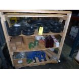 LOT OF MUD BUCKET SEALS & ENDS, SAFETY PINS, 5 T. ELEVATORS, PISTON & PISTON RODS  LOCATED IN