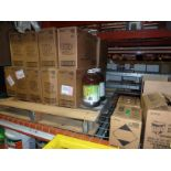 LOT OF CLEANING SUPPLIES: Pine-Sol, Raid insect killer, Off Deep Woods bug spray, Windex, Dawn &