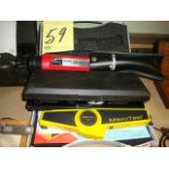 LOT CONSISTING OF FILM THICKNESS TESTERS (2) & HAND REFRACTOMETER