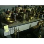 LOT OF TABLES & PROPS, assorted