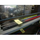 LOT OF PINCH BARS (5), assorted